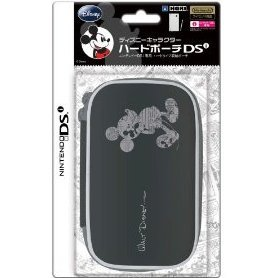 Disney Character Hard Pouch DSi (Mickey Black)
