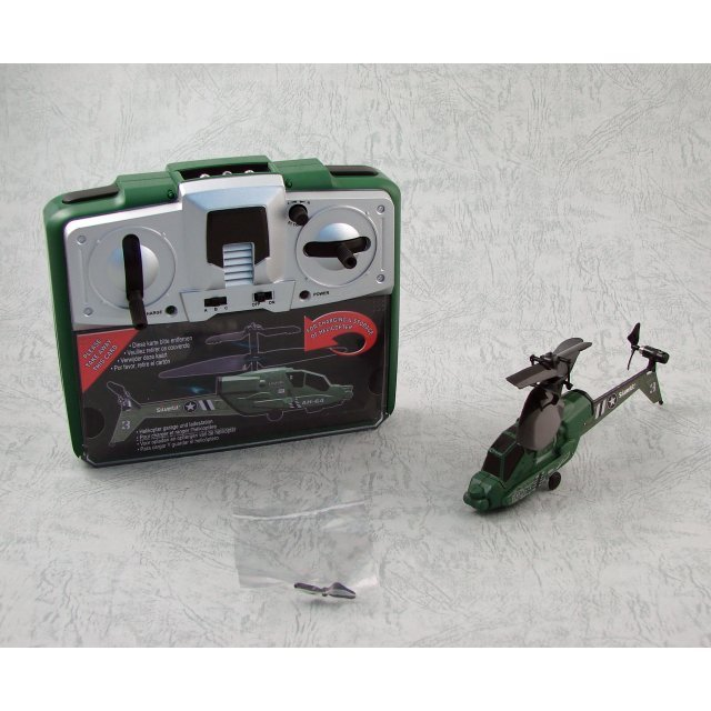 Picoo Z Infrared Control Helicopter Mini AH-64D Apache (Green)