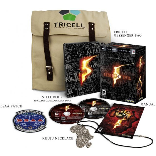 Resident Evil 5 [Collector's Edition] [No Chris Redfield Figurine]