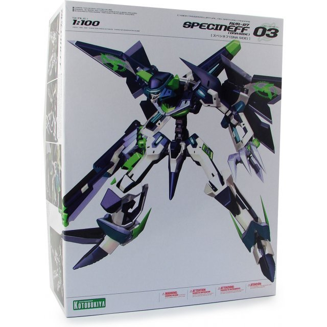 Virtual On Oratorio Tangram 1/100 Scale Pre-Painted Model Kit: RVR-87 Specineff