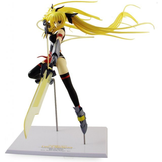 Magical Girl Lyrical Nanoha Striker S 1/7 Scale Pre-Painted PVC Figure: Fate T Harlaown True Sonic Form (Re-run)