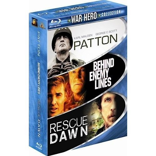 War Hero Collection (Behind Enemy Lines / Patton / Rescue Dawn)