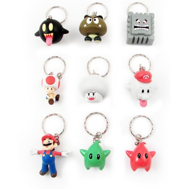 Bandai Super Mario Galaxy Vol. 3 Pre-Painted Key Chain
