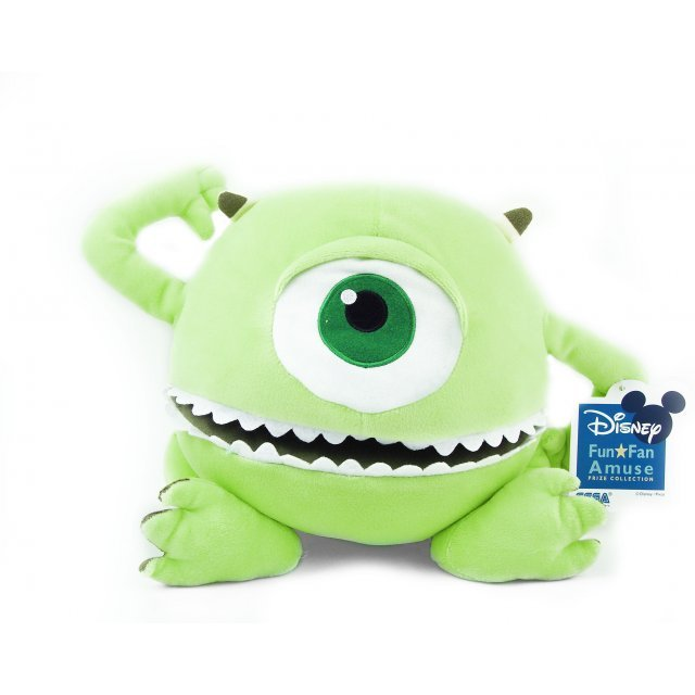 Monsters, Inc. Fun Fan Amuse Prize Collection Plush Doll: Mike