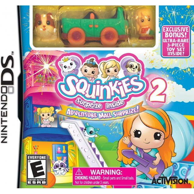 Squinkies 2: Adventure Mall Surprize! (with Toy)