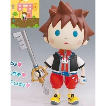 Kingdom Hearts Avatar Static Arts Vol.1 Pre-Painted PVC Figure: Sora