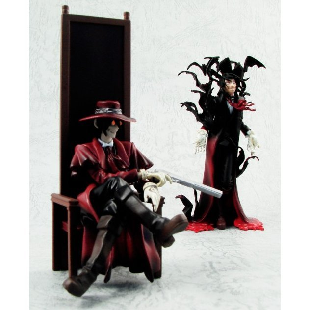 Search & Destroy Vol.1 Hellsing Collection Pre-Painted Figure: Alucard (Weekly Special Set)