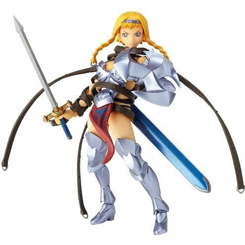 Revoltech Queens Blade Series No.001 1/12 Scale PVC Pre-Painted Figure: Leina