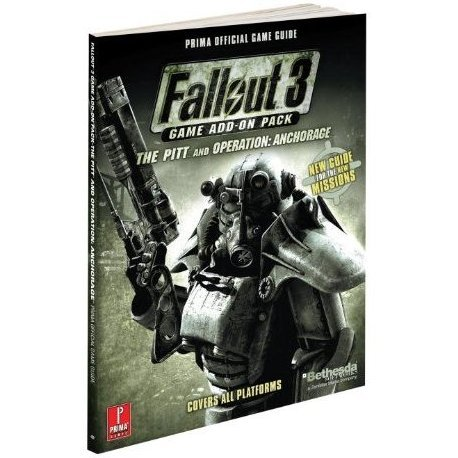 Fallout 3 Game Add-On Pack - The Pitt and Operation: Anchorage  Prima Official Game Guide