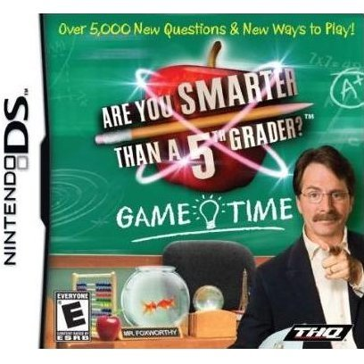 Are you Smarter than a 5th Grader: Game Time