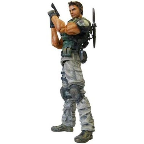 Biohazard 5 Play Arts Kai Pre-Painted Action Figure: Chris Redfield