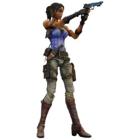Biohazard 5 Play Arts Kai Pre-Painted Action Figure: Sheva Alomar