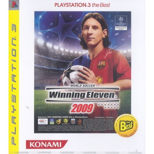 World Soccer Winning Eleven 2009 (Playstation3 the Best)