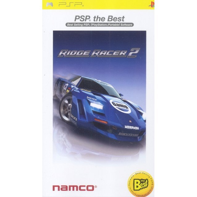 Ridge Racer 2 (English language Version) (PSP the Best)