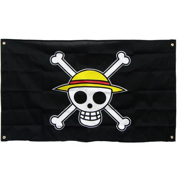 One Piece 10th Anniversary Pirate Flag: Straw Hat Flag