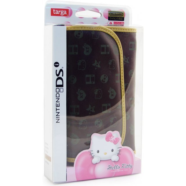 Hello Kitty Monogram Pouch DSi (Brown)