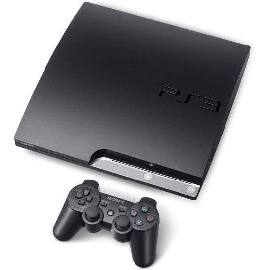 PlayStation3 Slim Console (HDD 120GB Model) - 110V