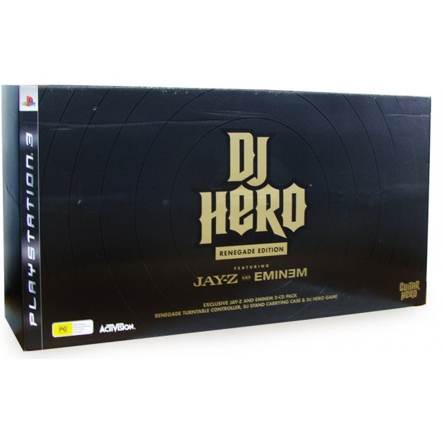 DJ Hero Renegade Edition feat. Jay-Z and Eminem (w/ Turn Table Bundle)