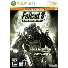 Fallout 3 Expansion Pack: Broken Steel / Point Lookout (Cracked Case)