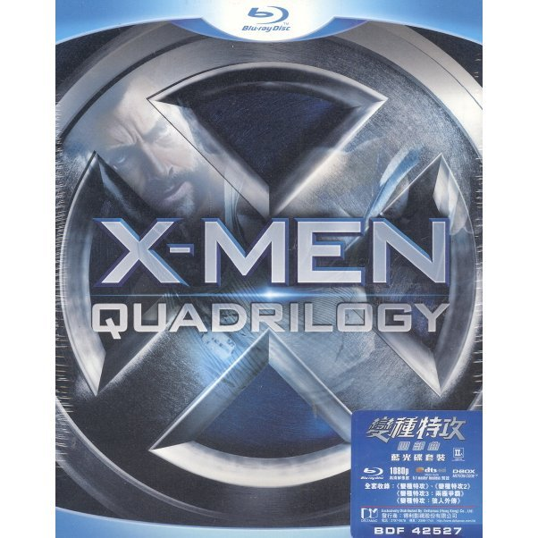 X-Men Quadrilogy [4 Blu-ray Edition]