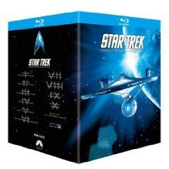 Star Trek I - X Theatrical Edition Box