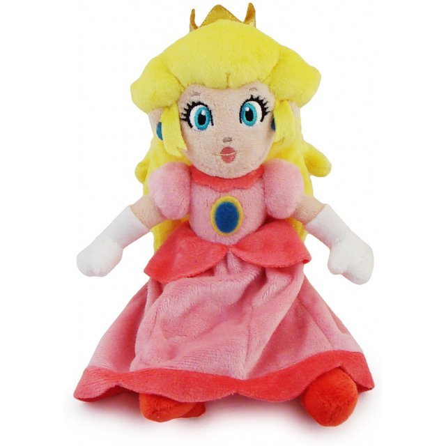Super Mario Plush Series Plush Doll: Princess Peach (Small Size)