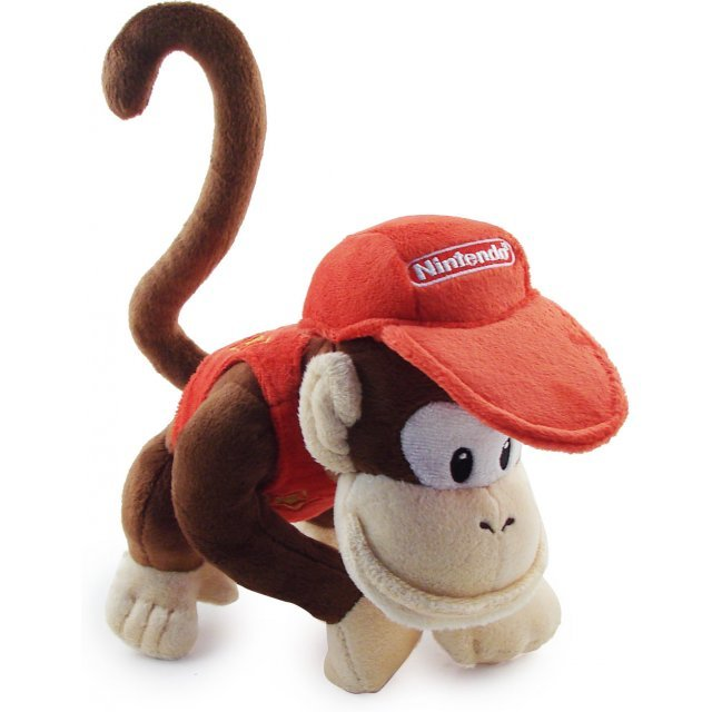 Super Mario Plush Series Plush Doll: Diddy Kong