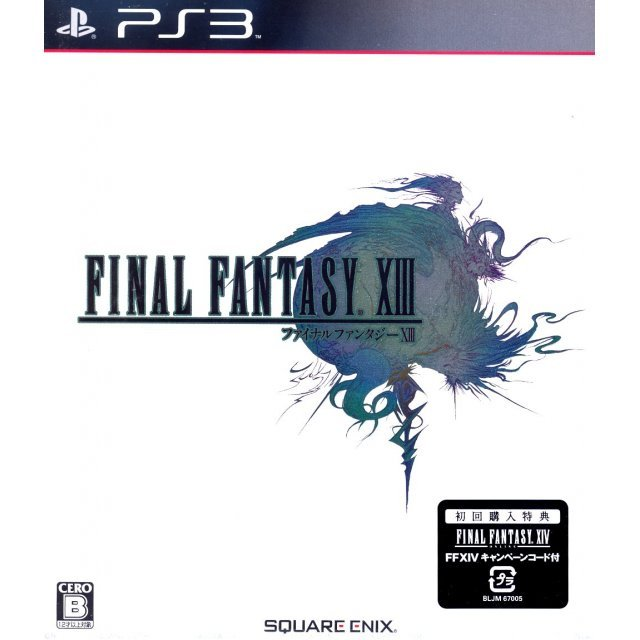 Final Fantasy XIII [First Print w/ Final Fantasy XIV Bonus Item Code]
