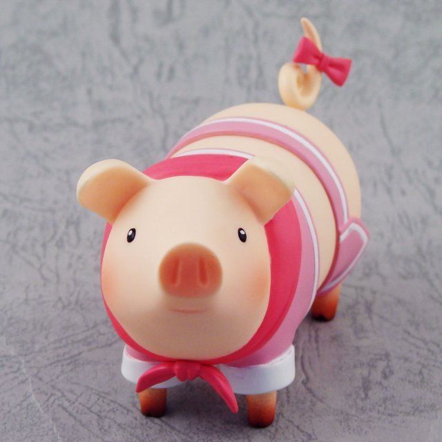 Monster Hunter Pugee Pre-Painted Figure: Pugee (Pink)
