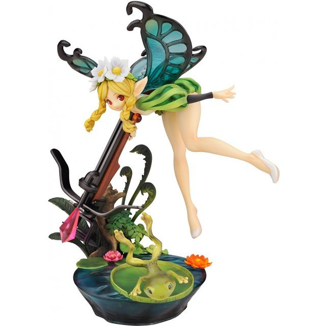Odin Sphere 1/8 Scale Pre-Painted PVC Figure: Mercedes Alter Version