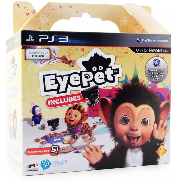 EyePet (English Version) [Bundle w/PlayStation3 Eye]