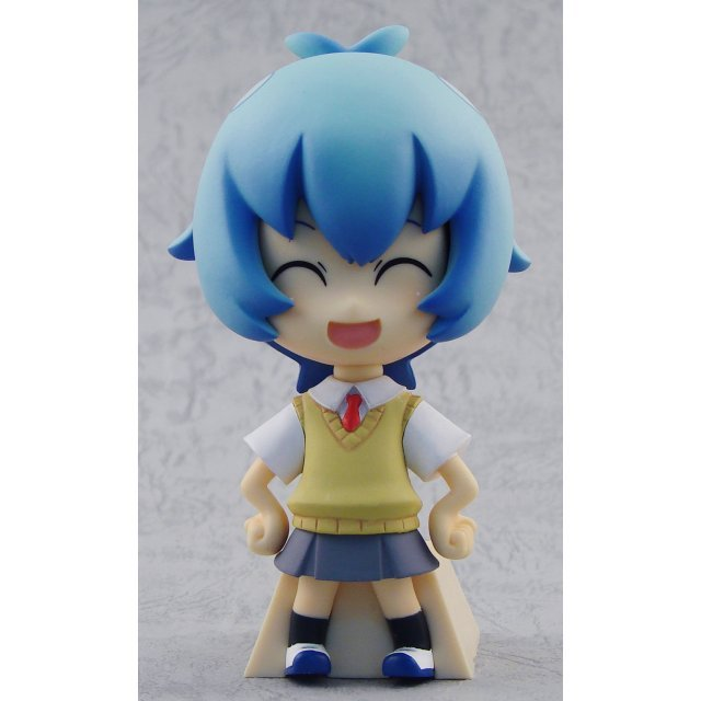 Neon Genesis Evangelion Deformation Maniac Collection Pre-Painted Figure: Rei (School Uniform Version)