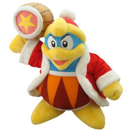 Kirby Adventure Kirby Plush Doll: King dedede