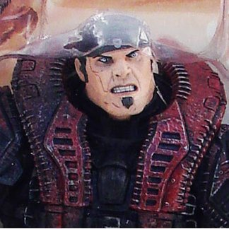 Gears of War Series 4 Pre-Painted Figure: Marcus Fenix (Theron Disguise)