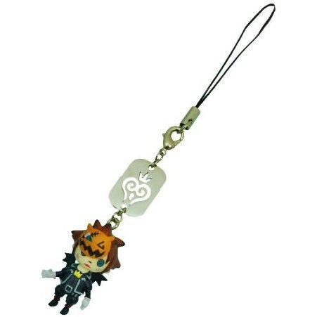 Square Enix Kingdom Hearts Avatar Mascot Phone Strap Vol.2: Sora (Halloween Town Version)