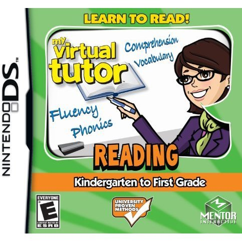 My Virtual Tutor: Reading Kindergarten to First