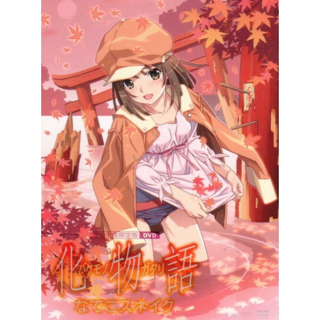 Bakemonogatari Vol.4 Nadeko Snake [DVD+CD Limited Edition]