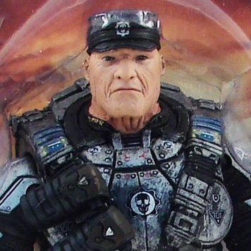 Gears of War Series 5 Pre-Painted Figure: Hoffman