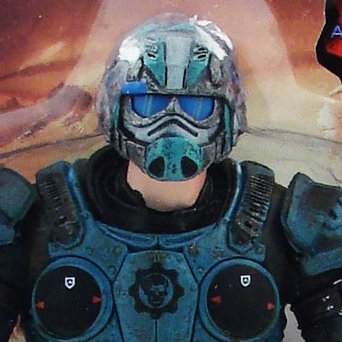 Gears of War Series 5 Pre-Painted Figure: COG Soldier