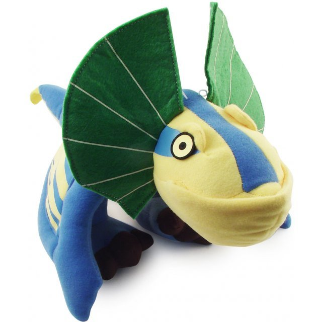 Monster Hunter Super DX Plush Doll: Monster Bird (Blue Version)