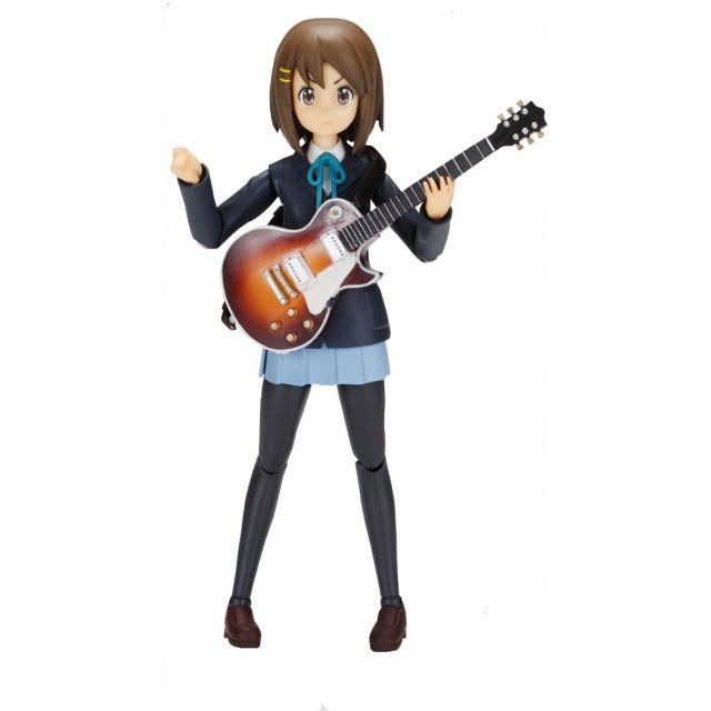 K-ON! Mobip No.03 Pre-Painted PVC Figure: Yui Hirasawa