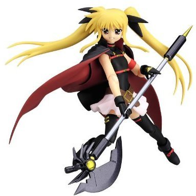 Magical Girl Lyrical Nanoha Striker S Non Scale Pre-Painted PVC Figure: figma Fate Testarossa