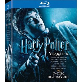Harry Potter [Year 1-6 Boxset 7-Discs]