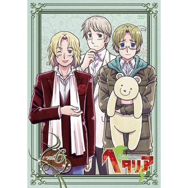 Hetalia Axis Powers Vol.6
