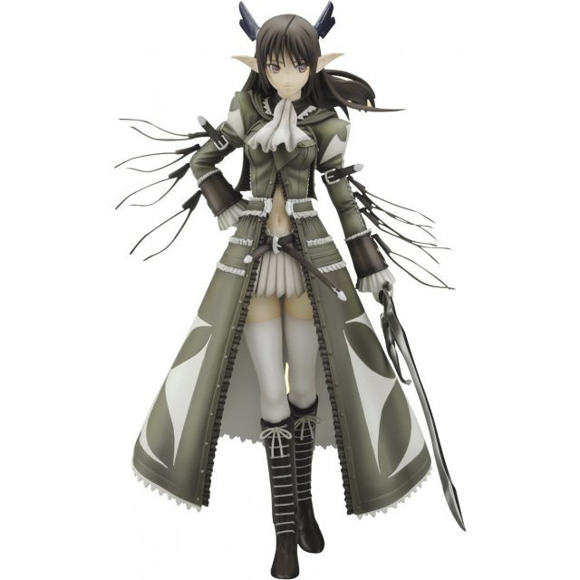 Shining Wind 1/8 Scale Pre-Painted PVC Figure: Xecty (Military Version)