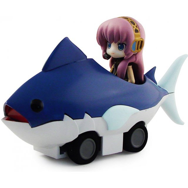 Nendoroid Plus Vocaloid Pull Back Car: Ruka in Tuna Car