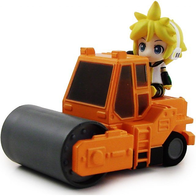Nendoroid Plus Vocaloid Pull Back Car: Ren in Road Roller