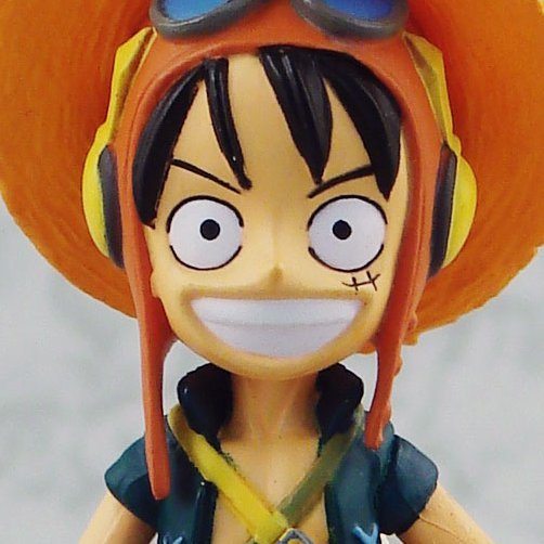 One Piece Strong World Vol. 1 Pre-Painted Figure: Luffy