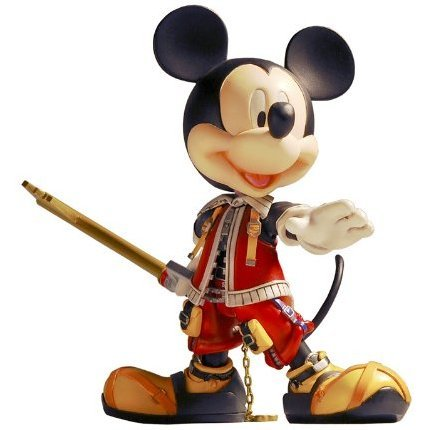 Kingdom Hearts II Non Scale Pre-Painted Figure: King Mickey