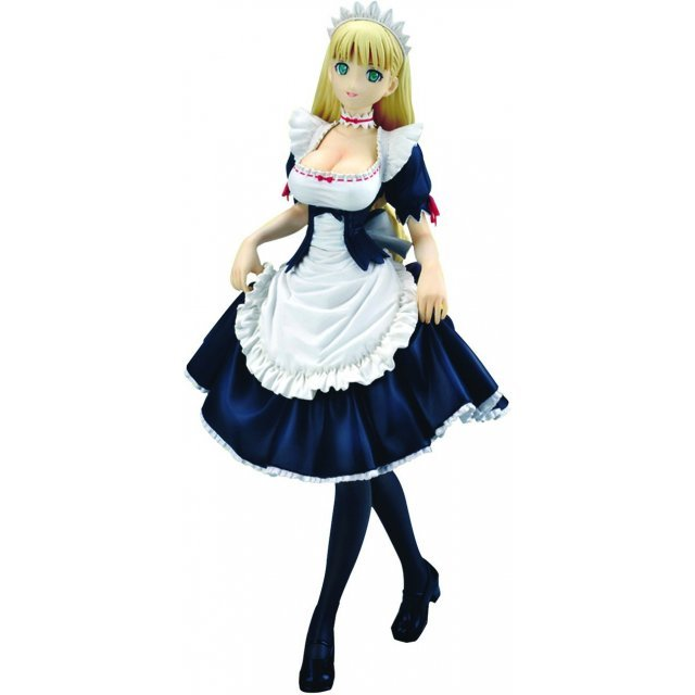 Shining Wind 1/8 Scale Pre-Painted PVC Figure: Clalaclan Noir (Maid Version)
